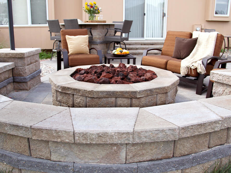 fire places and fire pits