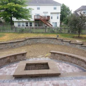 Retaining wall and seating wall