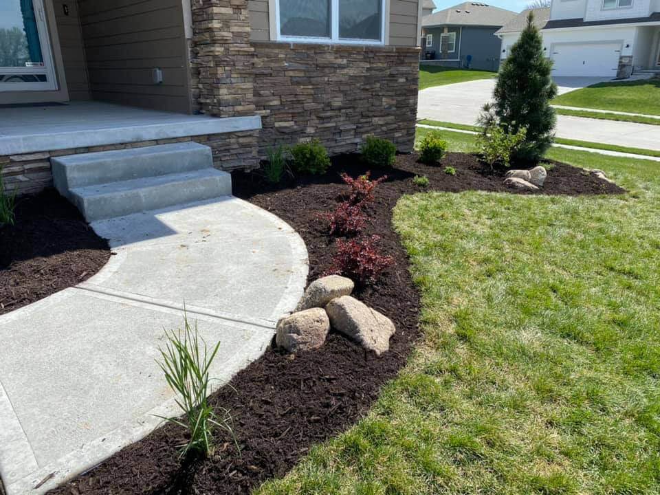 softscapes - landscape beds and color