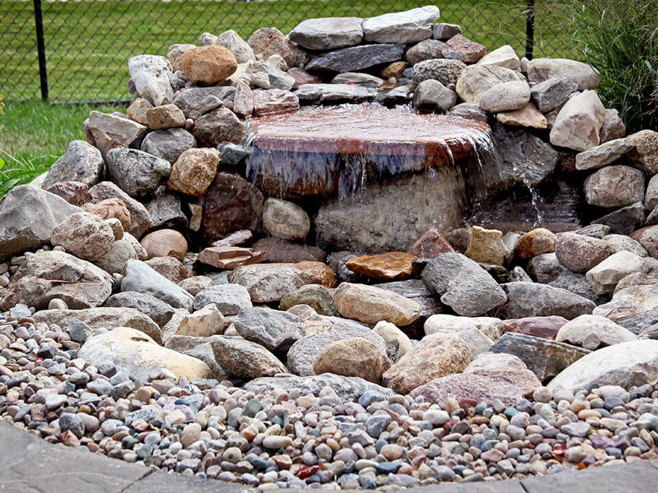 water feature - pondless water features